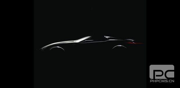 宝马官方发布全新Z4概念车预告图,8月17日正式亮相